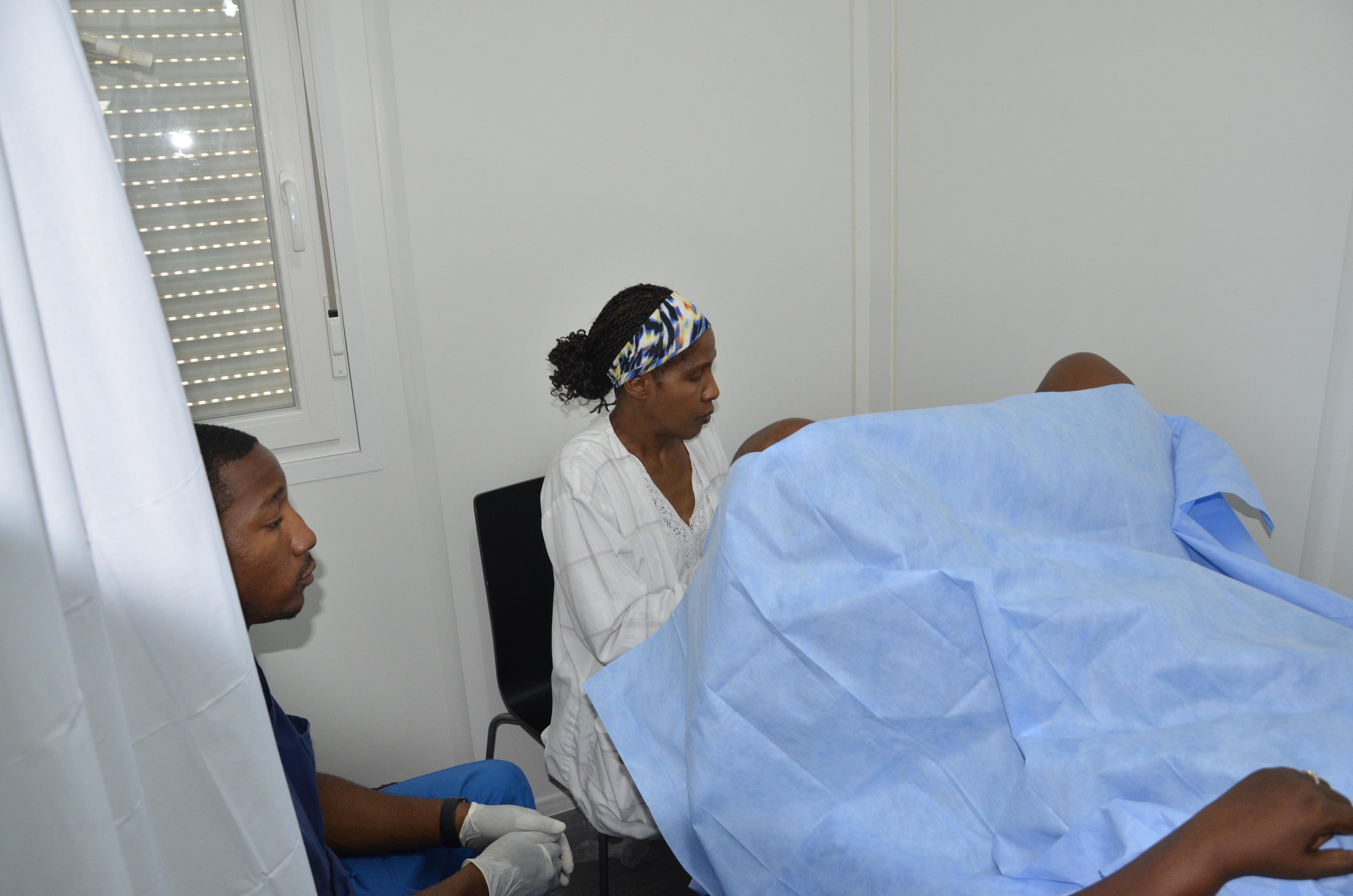 Haiti, cervical cancer screening
